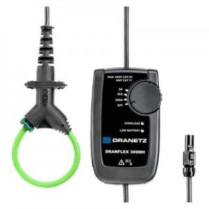 DRANFLEX300MH Mini Rogowski-Stromwandler, Primärstrom umschaltbar 3/30/300A AC, Ausgang 1,5 V AC (Z207N)